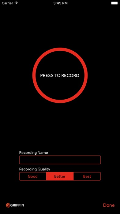 iTalk Recorder Premium screenshot1