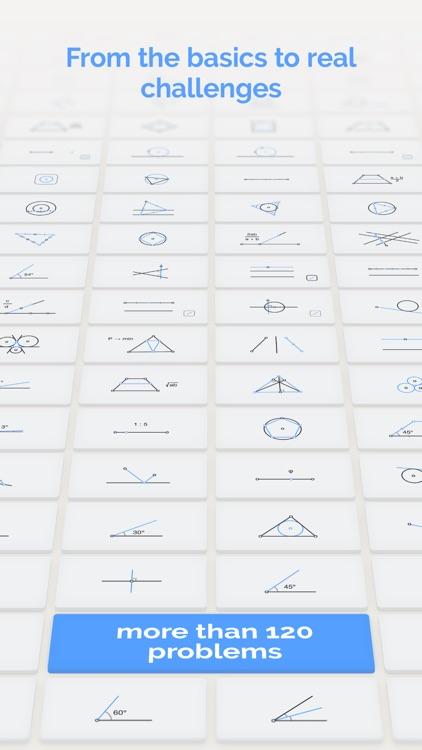 Euclidea: Geometric Construction Puzzles