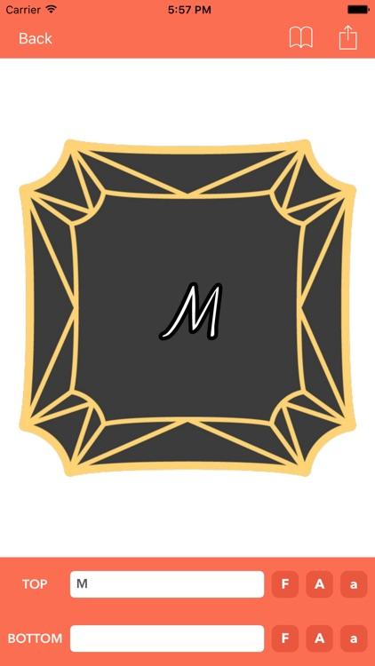 Monogram Maker screenshot-3