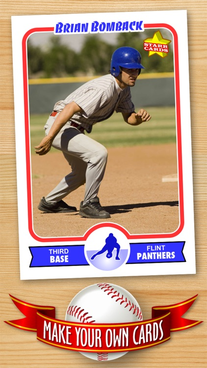 Baseball Card Maker (Ad Free) — Make Your Own Custom Baseball Cards with Starr Cards screenshot-4
