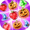 魔女のパズル‐のマッチ3ゲーム (Witch Puzzle)