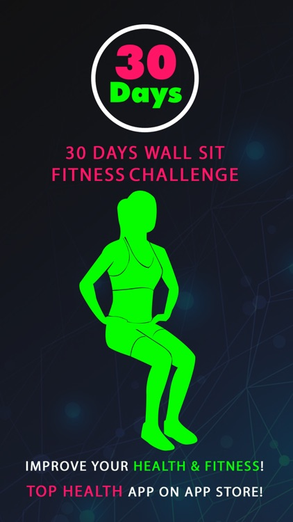 30 Day Wall Sit Fitness Challenges ~ Daily Workout