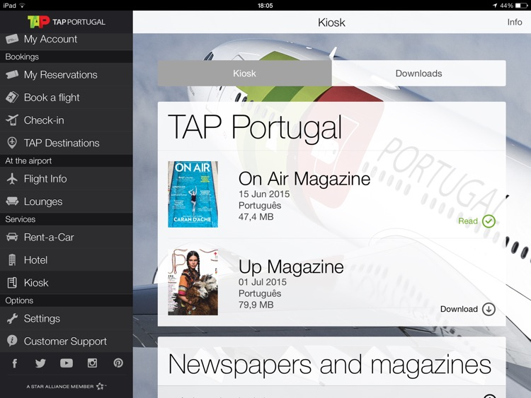 TAP Portugal for iPad screenshot-3
