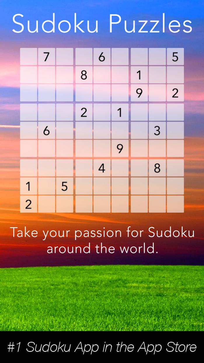 Sudoku Puzzle World Screenshot