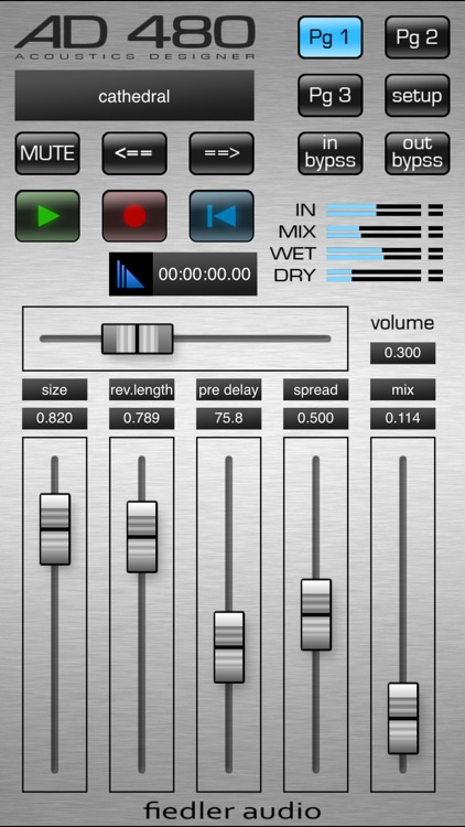 AD 480 pro - Reverb for Audiobus & Interapp Audio