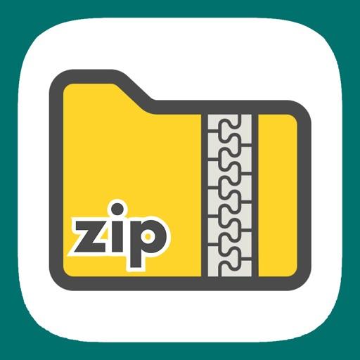 Easy zip - zip解凍・zip圧縮アプリ