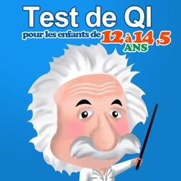 Test de QI pour les enfants de 12 à 14 ans