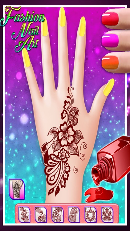 Fashion Nail Art - manicure beauty salon game for kids, teens and ...