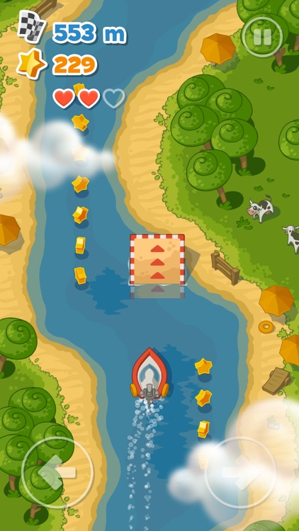 Little Boat River Rush screenshot-0