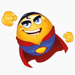 Mega Superhero Emoji – Stickers for iMessage