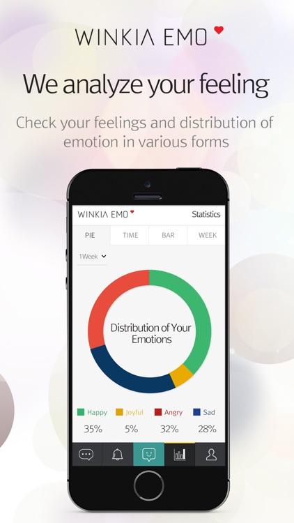WINKIA EMO (Mood, Emotion Diary) screenshot-3