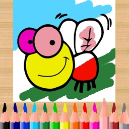 Magic paint - Kids coloring book