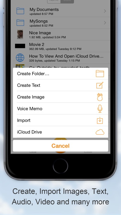Cloud Opener - File manager screenshot-1