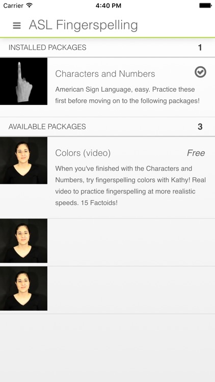 ASL Fingerspelling by MemoryGap screenshot-4
