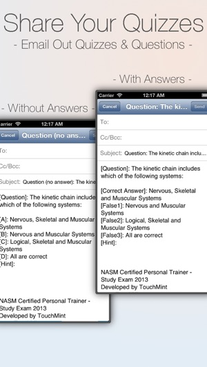 NASM CPT - Certified Personal Trainer Study Exam 2017 on the App Store