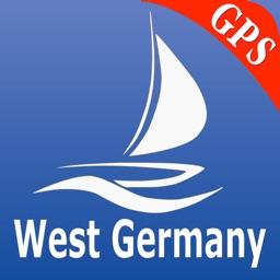 Germany W GPS Nautical Charts
