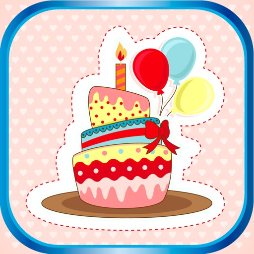 Happy Birthday Party Stickers