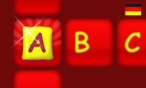 Alphabet Learning Word Builder - German