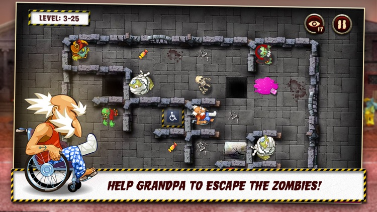 Grandpa and the Zombies - Take care of your brain! screenshot-0
