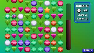 Jewel Match Jam : Pop and blast out 3 gems mania!Captura de pantalla de2