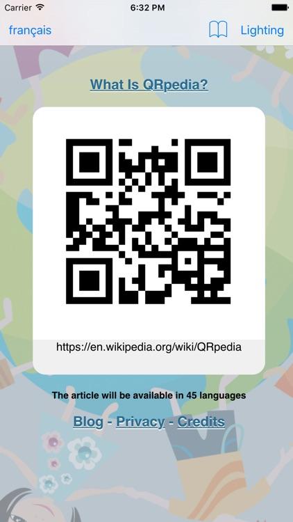 QRpedia screenshot-3