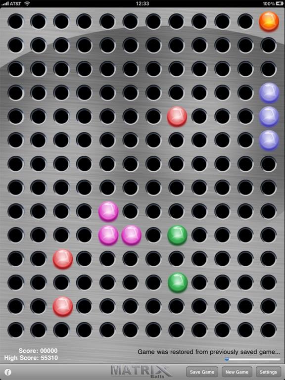 Matrix Balls на iPad