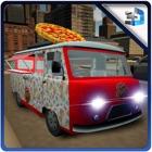 divertimento consegna Pizza Delivery Truck Simulat icon