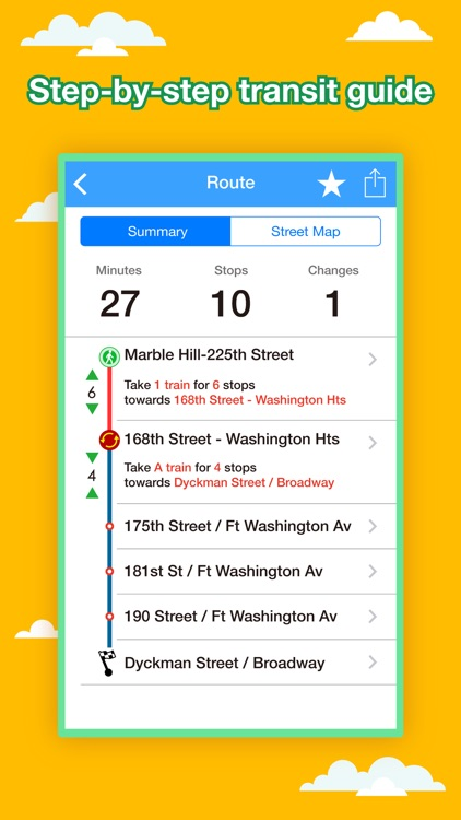 Subway Map Nyc Trip Planner.New York Transport Map Subway Map Route Planner By Ondemandworld