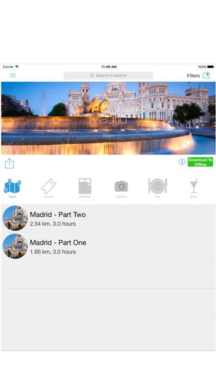 Madrid Travel Guide, Audio Tours & City Tour Maps