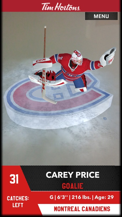 Tim Hortons AR Hockey Cards screenshot-4