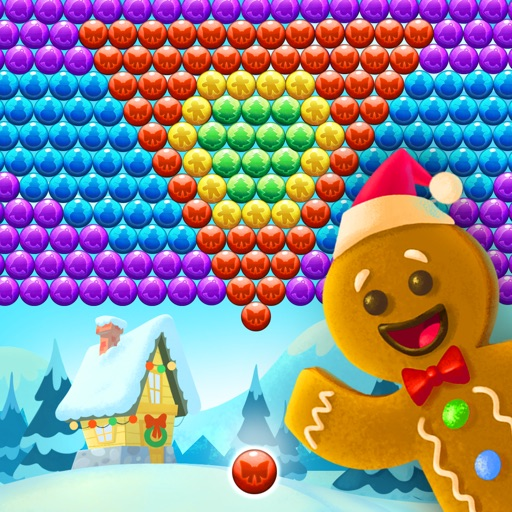 Christmas Cookie - Bubble Shooter