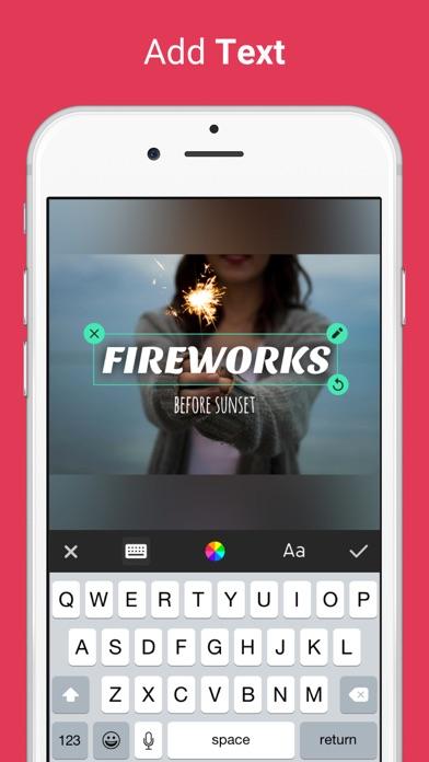 Photo Editor for Instagram No Crop, Emoji & Blur app image