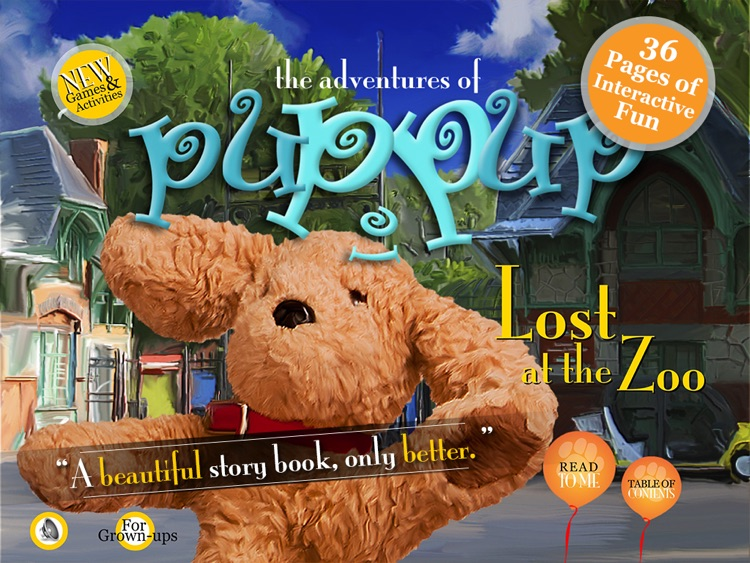 Adventures of Puppup: Lost at the Zoo