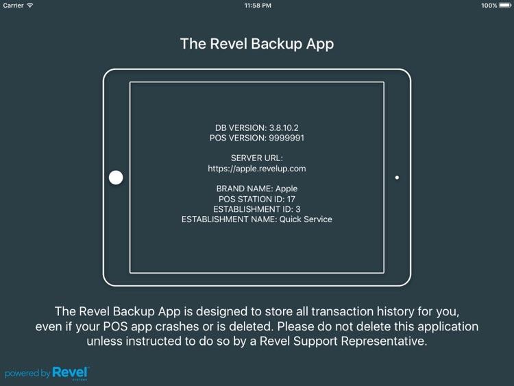 Revel Backup.