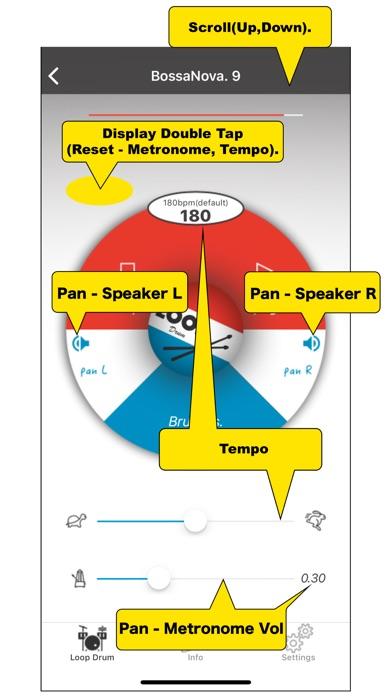 Loop Drum - メトロノーム ドラ... screenshot1