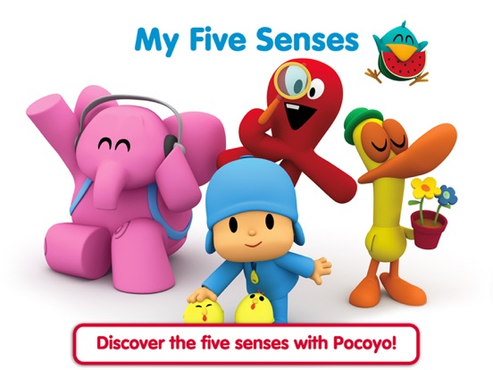 Pocoyo Playset - My 5 Sensesのおすすめ画像1