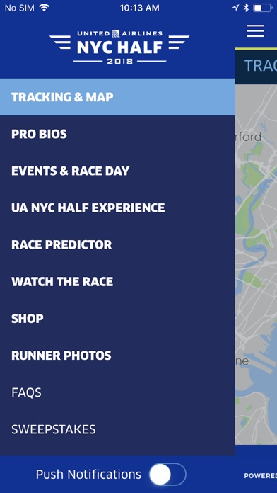 download 2018 United Airlines NYC Half apps 2