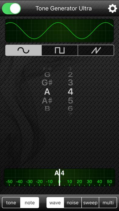 Screenshot #2 pour Tone Generator Ultra