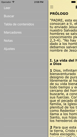 Catecismo Iglesia Católica - Catholic Catechism Screenshot