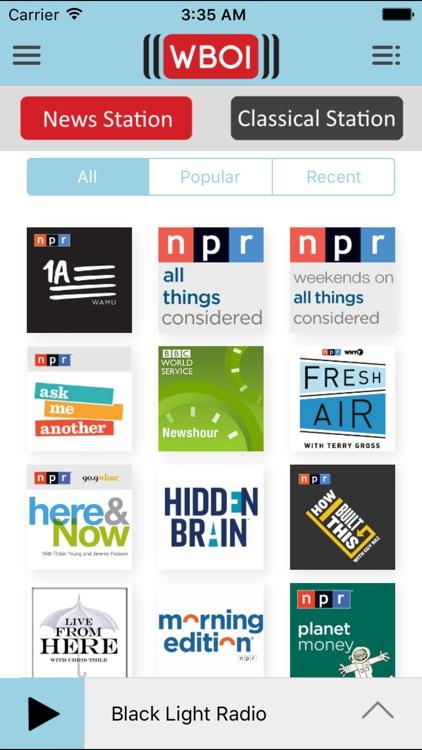 WBOI Public Radio App screenshot-3