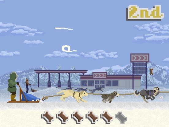 Screenshot #1 for Dog Sled Saga