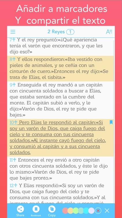 Biblia Cristiana con Audio (Bible in Spanish) screenshot-4