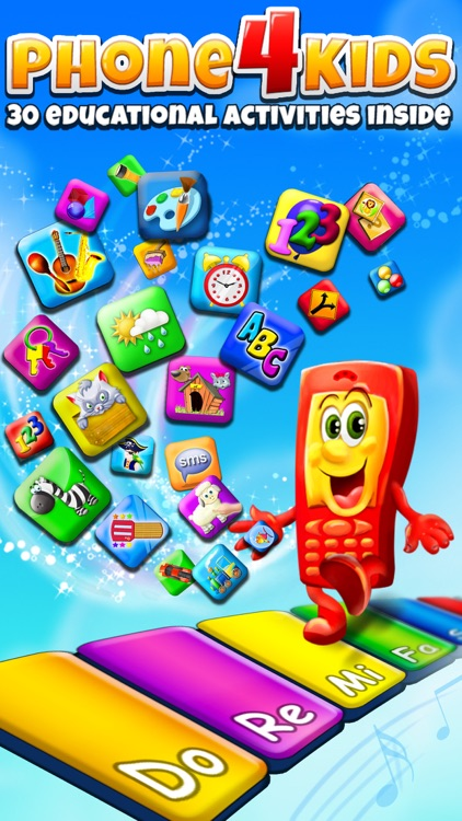 Phone for Kids – All in One Activity Center for Children HD: Full Version