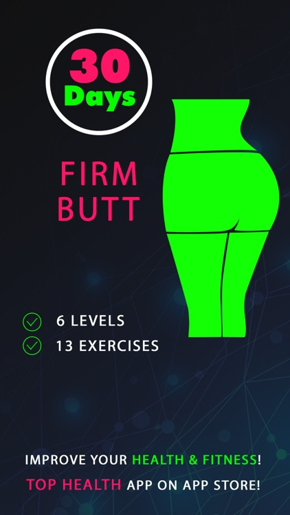 30 Day Firm Butt Fitness Challenges