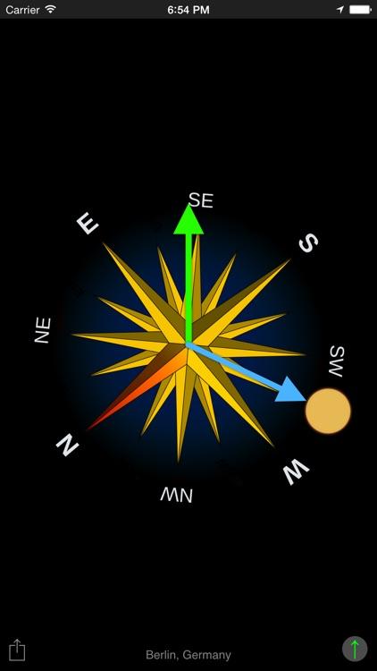 Sun Compass App screenshot-3