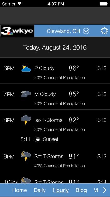 WKYC Weather screenshot-3