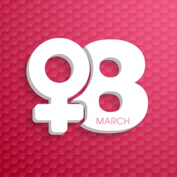 Awesome Women's Day Stickers