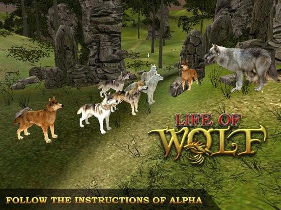 Волк: волки охота симулятор жизни корма и расти на iPad