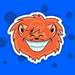 Lion - Sticker Pack