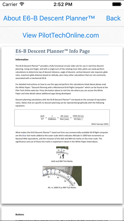 E6B Descent Planner screenshot-3